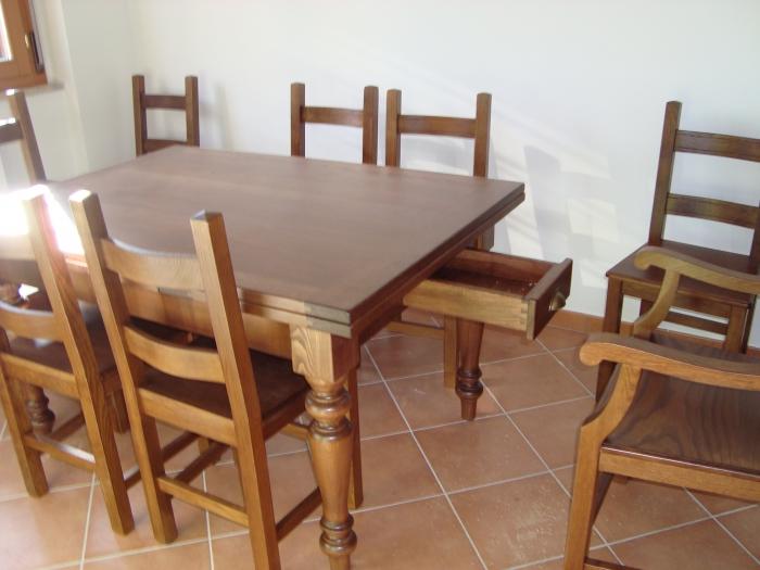 Tavoli e sedie tavoli e sedie classiche su misura roma e - Tavoli su misura roma ...